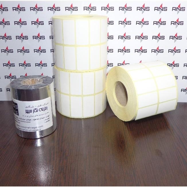 برچسب و لیبل کاغذی 40×20