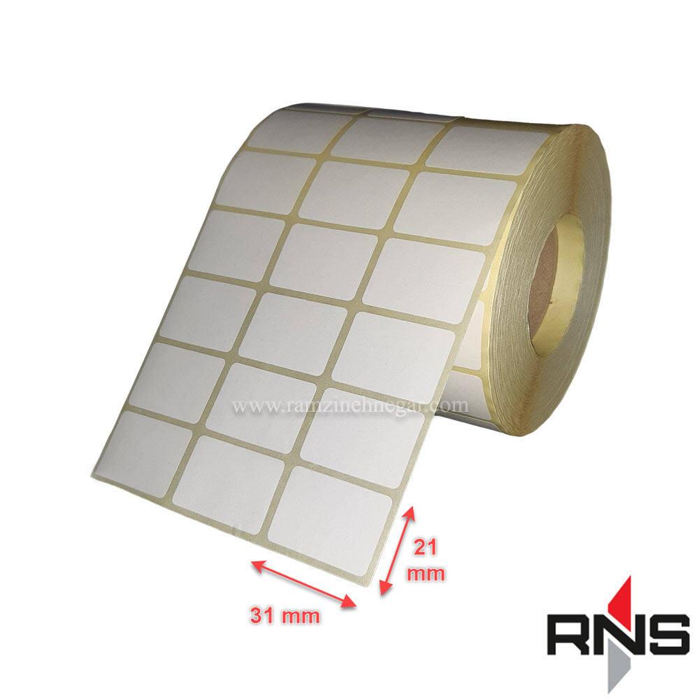 برچسب و لیبل کاغذی 31×21