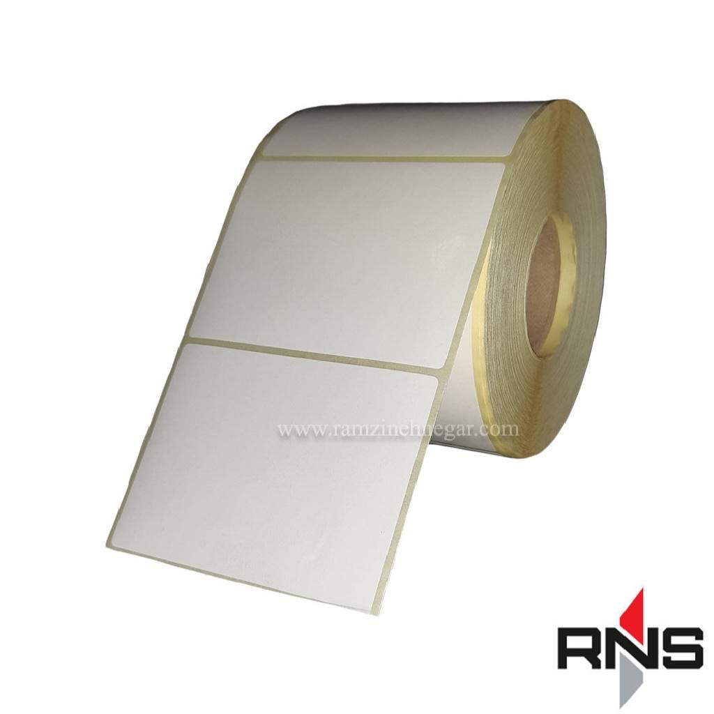 برچسب و لیبل کاغذی 80×60
