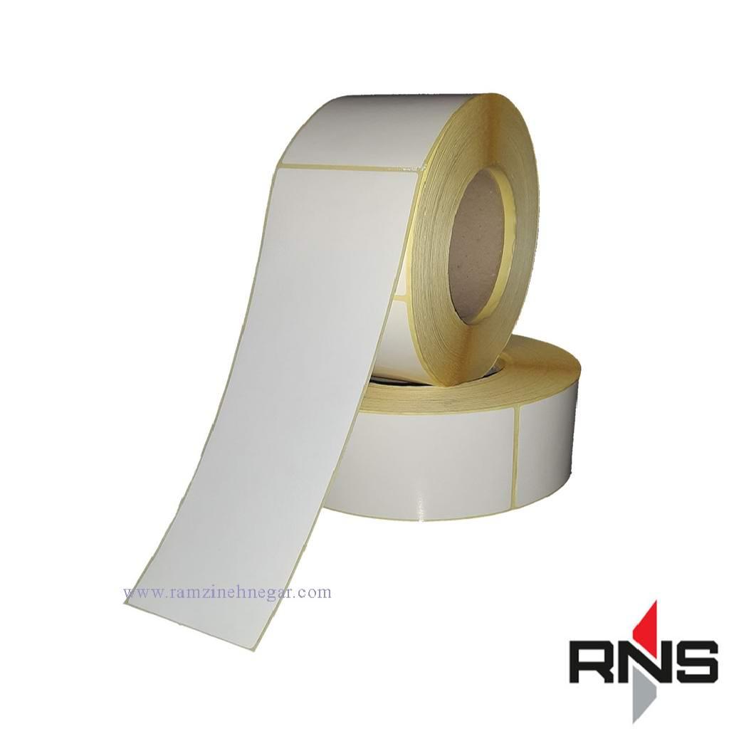 برچسب و لیبل کاغذی 210×60