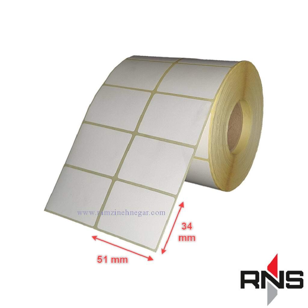 لیبل کاغذی 51×34