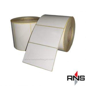 برچسب کاغذی 80×50