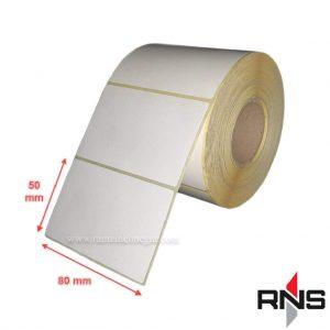 لیبل کاغذی 80×50