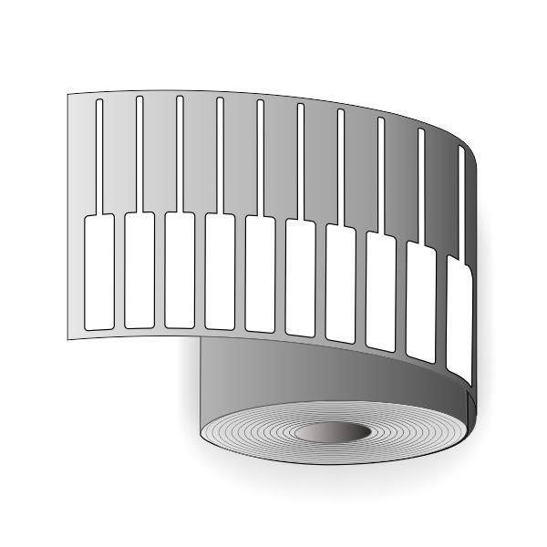 لیبل جواهر (لیبل دم شیشه ای)
