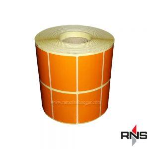 برچسب دیجی کالا PVC - لیبل نارنجی