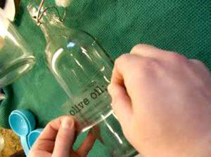 برچسب شفاف - برچسب شیشه ای - لیبل ترنسپرنت Transparent