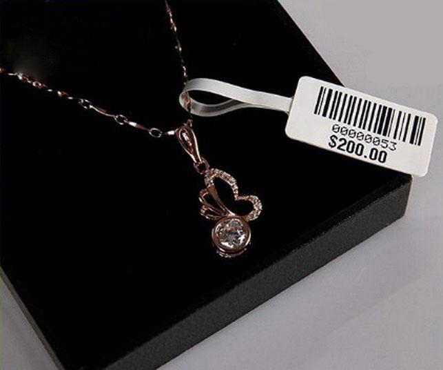 لیبل جواهر (Jewelry Label)