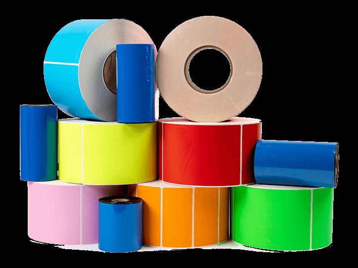 لیبل و برچسب رنگی (چاپ تمپلات لیبل)