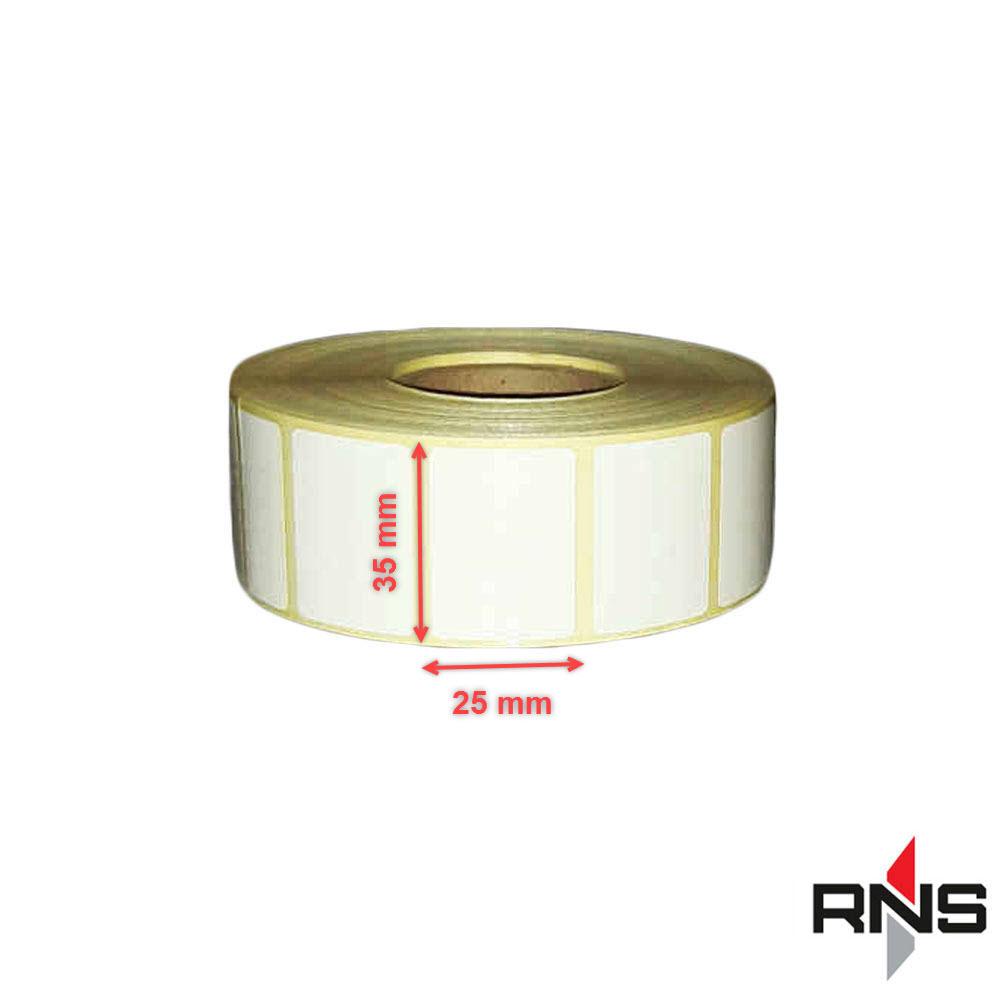 لیبل و برچسب حرارتی آزمایشگاهی 35×25
