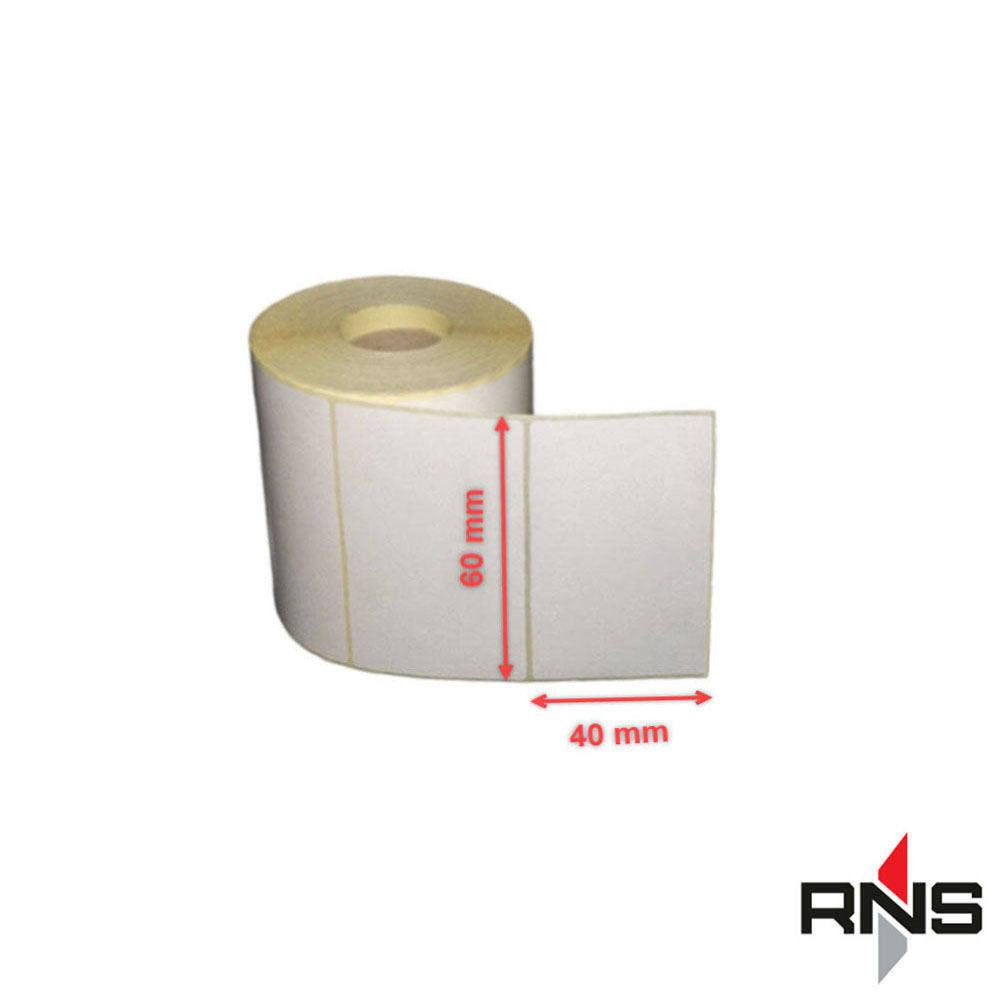 لیبل و برچسب ترازو 40×60 حرارتی